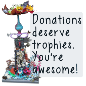 trophy donation